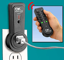 Remote Control Outlets (Image courtesy Taylor Gifts)