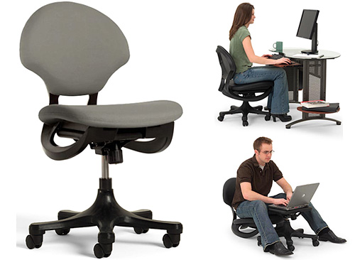 Trey Office Chair (Images courtesy TreyChair)
