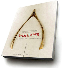 WISHPAPER (Image courtesy Paradoxy Products)
