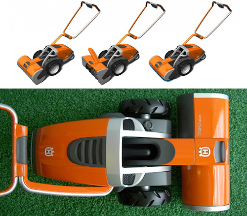 3 In 1 Lawncare Device (Images courtesy Yanko Design)
