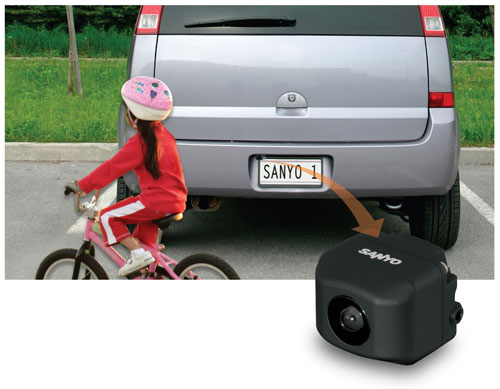 Sanyo Rear View Backup Camera (Image via Sanyo)