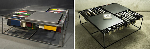 Booksheld Coffeetable (Images courtesy unal&boler)