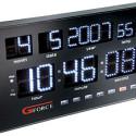 Superbright Gforce Power LED Calendar Clock