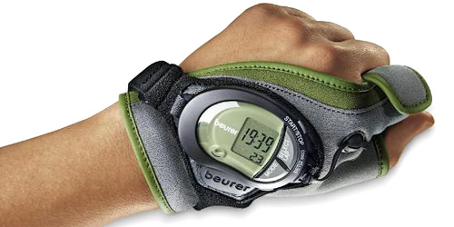 Beurer Heart Rate Monitoring Glove (Image courtesy I4U News)