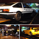 Initial D Arcade Setup Uses Full Sized Cars