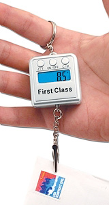 Digital Scale Keychain (Image courtesy Things You Never Knew Existed)