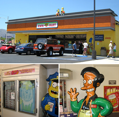7-11 Kwik-E-Mart (Images courtesy rdr07 @ Flickr)
