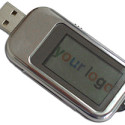 USB Flash Drive With Built-in LCD = Great Trade Show Schwag