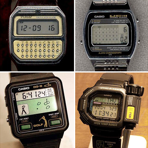Nerd Watch Museum Samples (Images courtesy The Nerd Watch Museum)
