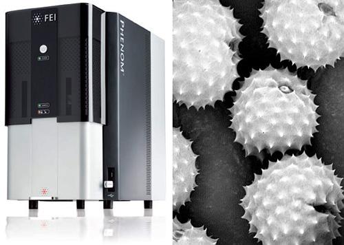 Phenom Scanning Electron Microscope (Images courtesy FEI Company)