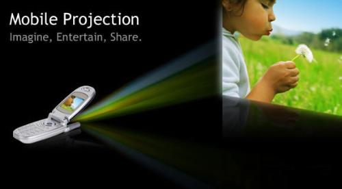 Microvision Signs with Motorola for Pico Projector phone