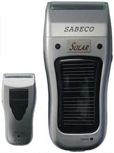Sabeco Solar Energy Shaver (Image courtesy Vogue-Gifts)