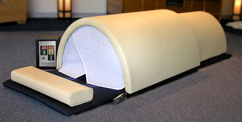 The Solo Personal Infrared Sauna (Image courtesy Sunlight Saunas)