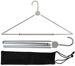 Aluminum Travel Hanger (Image courtesy MerlinsBox)