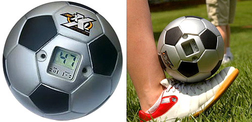 Virtual Soccer Ball (Images courtesy Discovery Channel Store)