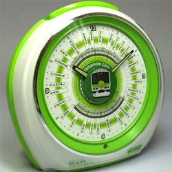 Yamanote Train Line Alarm Clock (Image courtesy Hobidas)