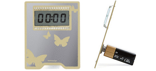 ZER00:00 Digital Clock (Images courtesy Charles & Marie)