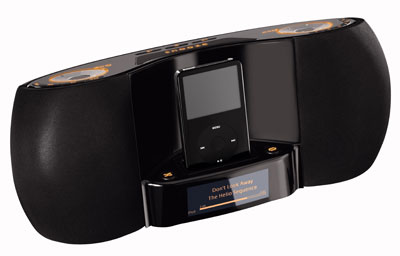 Logitech Pure-Fi iPod Bedroom Speaker (Image via Logitech)