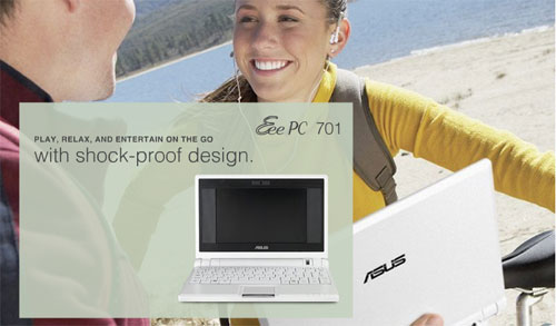 Asus Eee PC (Image via Asus)