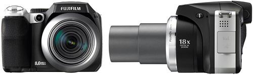 Fujifilm FinePix S8000fd (Images courtesy Fujifilm)