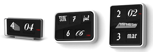 Font Clock (Image courtesy thorsten van elten)