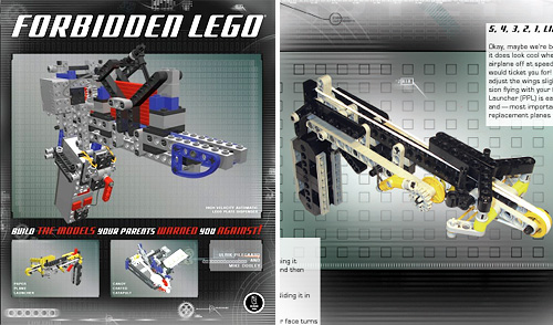 Forbidden LEGO (Images courtesy No Starch Press)