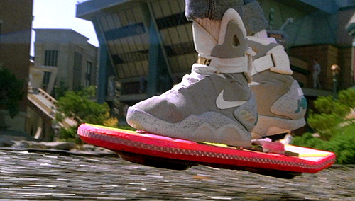 Back To The Future II Hoverboard (Image courtesy Universal Studios)