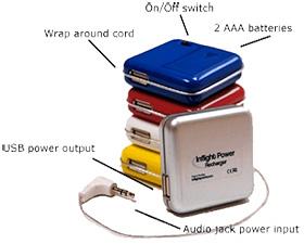 Inflight Power Recharger (Image courtesy InflightPower)