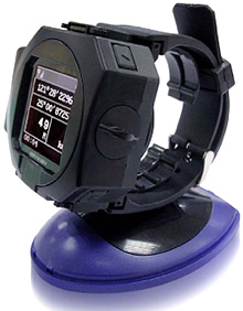 Mainnav MW-705 GPS Watch (Image courtesy Mainnav)