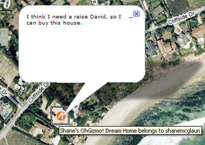Shane's OhGizmo! Dream Home (Image Via Mapisimo)