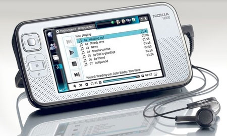 Nokia N800 Internet Tablet (Image Via Linux Devices)