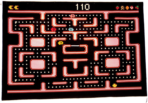 Pac Man Carpet (Image courtesy Our Childrens Gorilla)