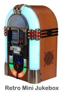 Advance Sound devices Retro Tune Mini Jukebox (Image via Advance Audio Devices)