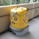 Subaru Develops Tondon, A Floor-Moppin' Bot