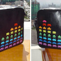 Rockza Space Invaders PVC Bag