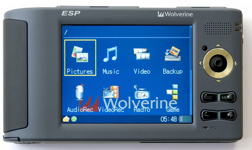 Wolverine EPS 250GB PMP and image storage device (photo via Wolverine)