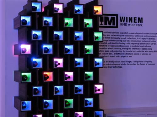 RFID Wine Rack