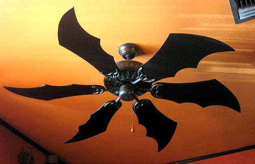 Bat / Dragon Wing Fan Blades (Image courtesy Etsy)
