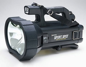 Black & Decker 20 Million Candlepower Spotlight (Image courtesy The Green Head)