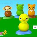 Hoppy Poppy Head Bangin' Desk Animals