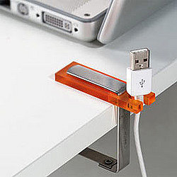Knicks Cable Holder (Image courtesy Charles & Marie)