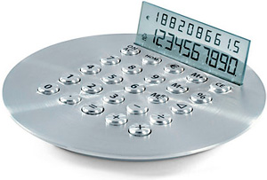 Lexon Roswell Calculator (Image courtesy WhereDidYouBuyThat.com)