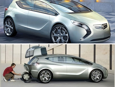 Opel Flextreme Concept (Images courtesy EcoGeek)