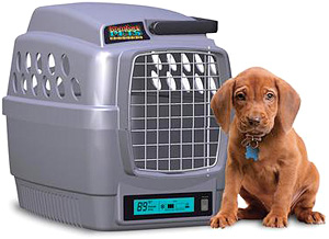 Climate Controlled Pet Carrier (Image courtesy SkyMall)