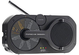 Porsche Design P'9110 Emergency Radio (Image courtesy Weathersnob.com)