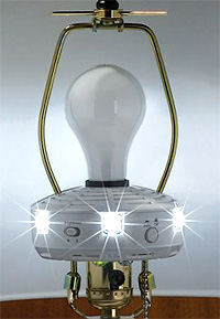 Power-Failure Light (Image courtesy Hammacher Schlemmer)