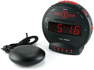 Sonic Bomb Alarm Clock (Image courtesy Zsuaro.com)