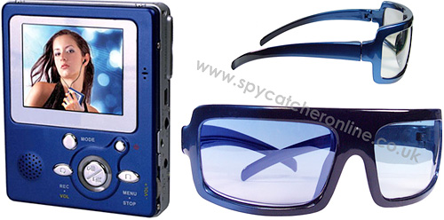 Sunglasses Camera with Personal Digital Video Recorder (Images courtesy Spycatcher)