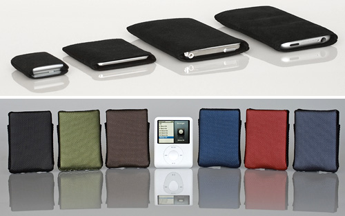 WaterField Designs New iPod Cases (Images courtesy WaterField Designs)