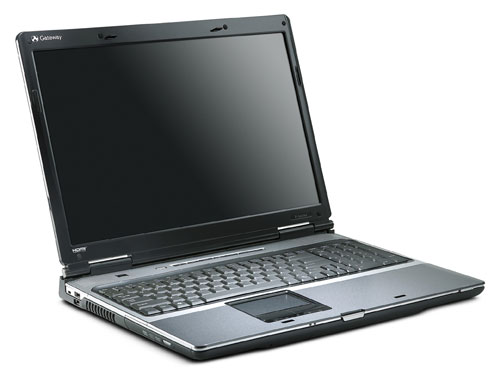 Gateway Announces P-6822 Notebook (Image via Gateway)